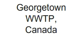 Georgetown WWTP, Canada