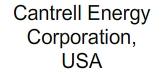 Cantrell Energy Corporation, USA